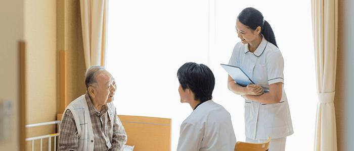 訪問診療(迅速採血、超音波検査、レントゲン、心電図、すべて実施可能)